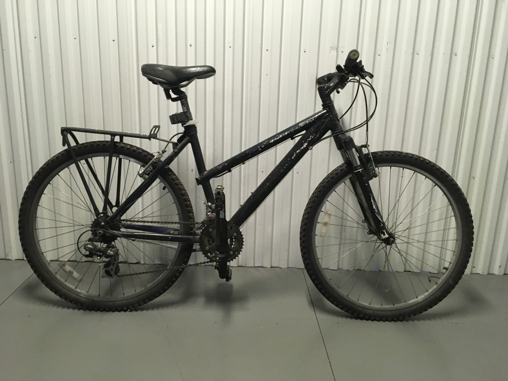 Black mountain Bike